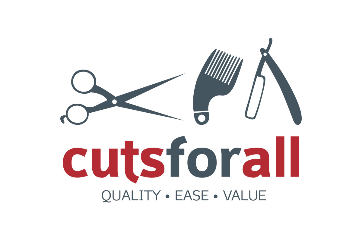 cuts-for-all-blue-mountains-logo-design