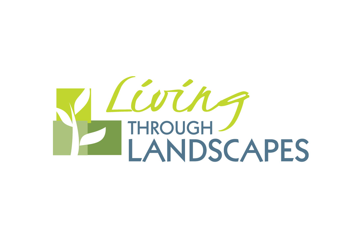 living-through-landscapes-logo-design