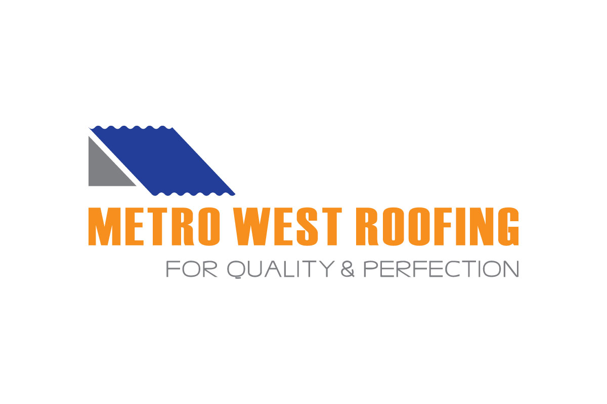 metro-west-roofing-logo-design