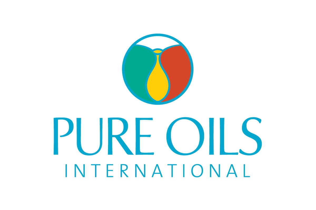 pure-oils-international-logo-design